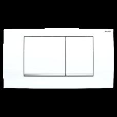 Przycisk uruchamiający Geberit Twinline30, biały/chrom bł./biały